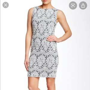 Donovan Lace Fitted Dress